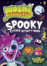 Moshi Monsters : Spooky Sticker Activity Book - Puffin Books