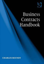 Business Contracts Handbook - Charles, Mr Boundy