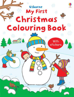 First Christmas Colouring Book : Usborne First Colouring Books Series - Jessica Greenwell