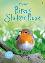 Birds Sticker Book : Usborne Spotter's Sticker Guides - Philip Clarke