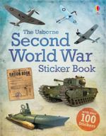 Second World War Sticker Book - Henry Brook