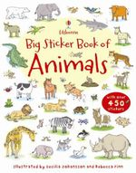 Big Sticker Book of Animals - Jessica Greenwell