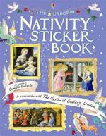 Nativity Sticker Book : Usborne Sticker Books - Jane Chisholm