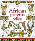 African Patterns to Colour - Struan Reid