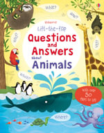 Lift the Flap Questions & Answers about Animals - Katie Daynes