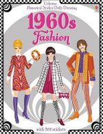 Historical Sticker Dolly Dressing 1960s Fashion - Emily Bone