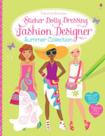 Sticker Dolly Dressing Fashion Designer Summer Collection : Sticker Dolly Dressing - Fiona Watt
