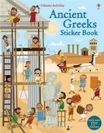 Ancient Greeks Sticker Book - Fiona Watt