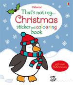 That's Not My Christmas Sticker and Colouring Book - Fiona Watt