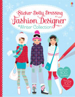 Sticker Dolly Dressing Fashion Designer Winter Collection - Fiona Watt