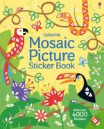 Mosaic Picture Sticker Book - Joanne Kirby