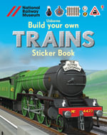 Build Your Own Trains Sticker Book - Simon Tudhope