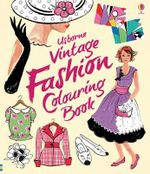 Vintage Fashion Colouring Book - Ruth Brocklehurst