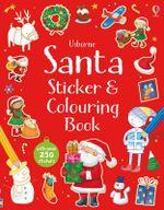 Santa Sticker and Colouring Book - Sam Taplin