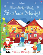 First Sticker Book Christmas Market - James Maclaine