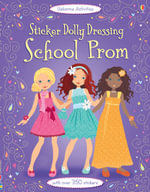 Sticker Dolly Dressing School Prom : Sticker Dolly Dressing - Fiona Watt
