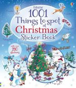 1001 Christmas Things to Spot Sticker Book - Alex Frith