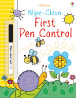 Wipe-Clean First Pen Control : Wipe-clean Books - Sam Smith