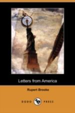 Letters from America (Dodo Press) - Rupert Brooke