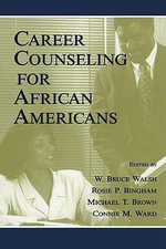 Career Counseling for African Americans - Gertrud Krause