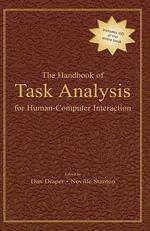 The Handbook of Task Analysis for Human-Computer Interaction - Dan Diaper