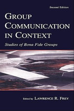 Group Communication in Context : Studies of Bona Fide Groups - Suzanne Romaine