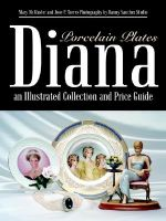 Diana an Illustrated Collection and Price Guide : Porcelain Plates - Mary McMaster