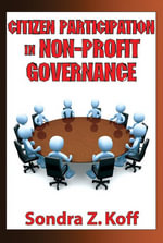 Citizen Participation in Non-Profit Governance - Sondra Z. Koff