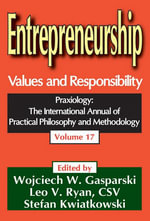 Entrepreneurship : Values and Responsibility