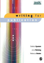 Writing for Publication - Debbie Epstein