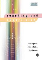 Teaching and Supervision - Debbie Epstein