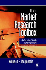 The Market Research Toolbox : A Concise Guide for Beginners - Edward F. McQuarrie