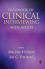Handbook of Clinical Interviewing with Adults - Michel Hersen