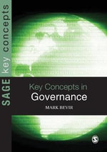 Key Concepts in Governance - Mark Bevir