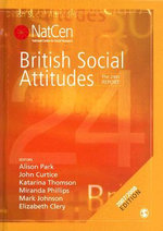 British Social Attitudes : The 24th Report