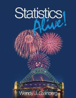 Statistics Alive! - 1st Edition : Design and Methods - Wendy Steinberg