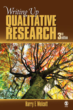 Writing Up Qualitative Research - Harry F. Wolcott