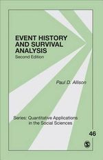 Event History and Survival Analysis - Paul D Allison