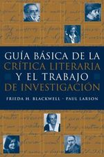  Basic Handbook for Literary and Criticism - Frieda H Blackwell