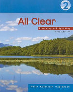 All Clear 3e-Student Text : Listening and Speaking 2 - KALKSTEIN