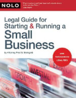 Legal Guide for Starting & Running a Small Business - Fred Steingold