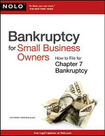 Bankruptcy for Small Business Owners : How to File for Chapter 7 - Attorney Stephen Elias