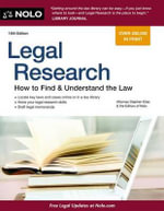 Legal Research : How to Find & Understand the Law - Attorney Stephen Elias
