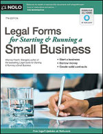 Legal Forms for Starting & Running a Small Business : Legal Forms for Starting & Running a Small Business - Fred Steingold