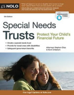 Special Needs Trusts : Protect Your Child's Financial Future - Attorney Stephen Elias