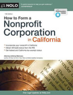 How to Form a Nonprofit Corporation in California - Anthony Mancuso