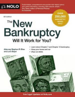 The New Bankruptcy : Will It Work for You? - Attorney Stephen Elias