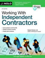 Working with Independent Contractors - Stephen Fishman, J.D.