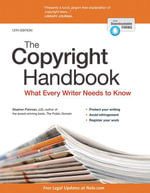 Copyright Handbook, The : What Every Writer Needs to Know - Stephen Fishman