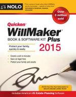 Quicken Willmaker : Book & Software Kit - Editors Of Nolo
